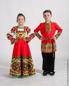 Circus Costume, Folk Costume, Cool Costumes, Dance Costumes, Dance Outfits, Kids Outfits, Russian Party, Costumes Around The World, Baby Couture