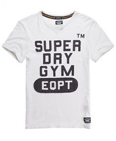 Superdry Camiseta Routine - Camisetas para Hombre