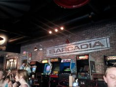Arcade games and drinks! | Barcadia New Orleans in New Orleans, LA