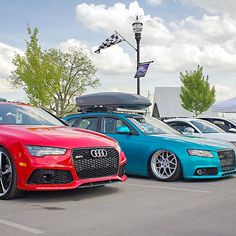 Had a great time at my first show of the season at @theeurodistrict this weekend with @ryan_speck @austin_pierce @danwogan and @dabsanto_rs7 ! 😁😊🚘 #audi #audia4 #audizine #b8 #a4 #avant #wagon #wagonsteez #wagonsonly #wagonmafia #airlift #lifeonair #slammed #bagged #garde #rs7 #audirs7 #tt #mk2 #tts #mk6 #gti #eurodistrict #euro #district #theeurodistrict #thelife