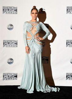 Jennifer Lopez in Charbel Zoe Couture
