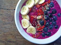 dragon fruit chia healthy breakfast
