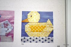 duck quilt pattern | This is probably my favorite page so far. I'm savoring the book...ever ...