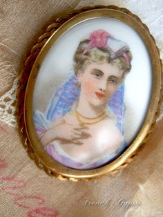 Elegant French Brooch