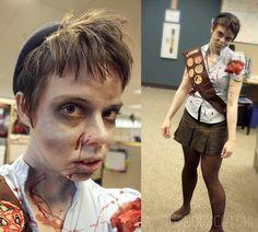 zombie scout halloween costume :: via, oh, hopscotch!