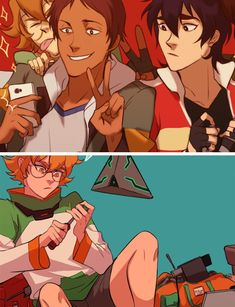 Pidge, Keith, and Lance #voltron #fanart