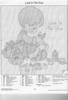 Precious Moments - Love Is The Glue