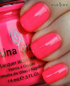 China Glaze - Pool Party... Obsession
