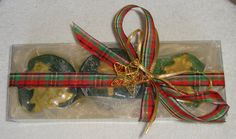 SOLD  Christmas Soap Gift Set Green by JoannasScentedSoaps on Etsy