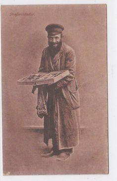 Jewish Street Peddler in Poland.