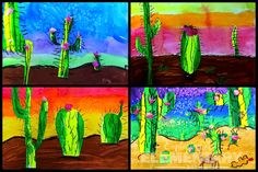 2nd Grade Desert Landscapes