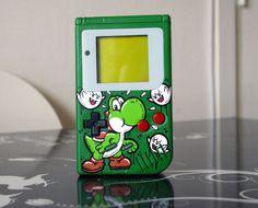 """Nintendo : custom gameboy """"Yoshi"""""""
