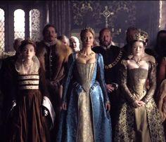 The tudors- Queen Katherine Parr, Mary Tudor and Elizabeth Tudor