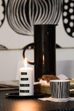 Adventtikynttilä.  Candle of advent.