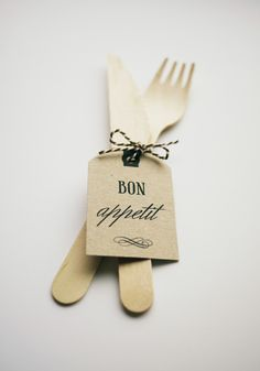 Free printable - Bon Appetit favor tags        FREEBIE: Bon Appetit Favour Tags
