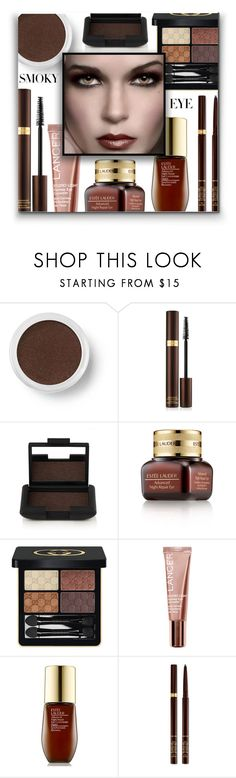 """Smoldering: Smoky Eye"" by ajspragu02 ❤ liked on Polyvore featuring beauty, Bare Escentuals, Tom Ford, NARS Cosmetics, Estée Lauder, Gucci and Lancer Dermatology"