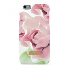 Ted Baker Soft-Feel Hard Shell for iPhone 7 - Porcelain Rose (Nude)