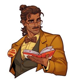 Hugo Vega Dream Daddy Game, Dream Daddy Fanart, Character Inspiration, Character Art, Character Design, Cricket, Illustrated Words, Hot Dads, Black Anime Characters