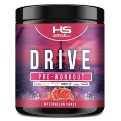 Hustle Supplements Drive Pre Workout - Watermelon Candy Bad Room Ideas, Pre Workout Supplement, Bodybuilding Recipes, Good Energy, Hustle, Watermelon, The Incredibles, Candy, Sweets