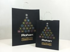 Statement festive print Paper Carrier produced for @Rohan 2015