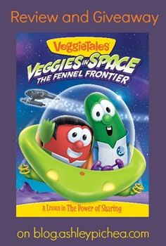 """""""Veggies in Space"""" Giveaway [ends 3/24]"""