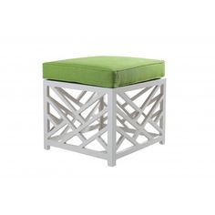 Stool in trellis with cuchion