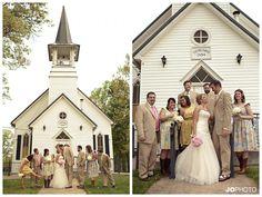 Country church wedding  http://www.JoPhotoOnline.com/Blog