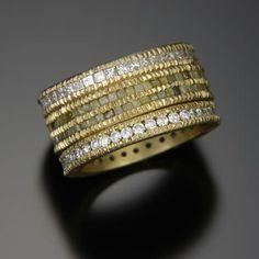 Todd Reed raw diamond ring