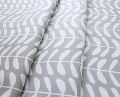 Cloud9 Fabrics Yoyogi Park 133550 Vines Gray Canvas