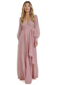 Charlotte Mauve Romance Dress