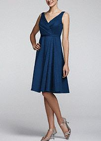 Classic elegance meets modern sophistication, in this gorgeous cotton sateen sleeveless dress! Sleeveless V neck cotton sateen dress is stunning and perfect for any bridesmaid. Pleating at bodice and waist help to create a flattering silhouette while the full cotton sateen skirt adds movement. Fully lined. Back zip. Imported. Dry clean.