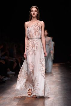 Pin for Later: Valentino Proves There's Nothing Wrong With Just Sending Beautiful Dresses Down the Runway Valentino Spring 2015