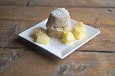 mugcake - mugcake ananas kokos - ontbijt - snel ontbijt - glutenvrij ontbijt - glutenvrij