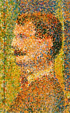 George Seurat, La Parade Pointillism is a technique of painting in which small, distinct dots of pure colour are applied in patterns to form an image. Georges Seurat and Paul Signac developed the technique in branching from Impressionism. Georges Seurat, Contemporary Abstract Art, Modern Art, Pixel Art, Albertina Wien, Classe D'art, Art Classroom, Painting Techniques, Impressionist