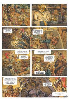 BLACKSAD GALLERY: Blacksad, Tome 5 : Amarillo 30 Page Preview