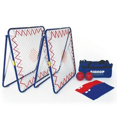 TCHOUKBALL GAMES SET - This kit contains appropriate equipment to provide an introduction to the game of Tchoukball.