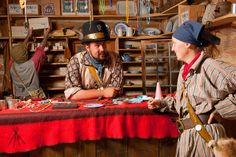 Hanging out in the Trading Post at Festival Du Voyageur in Winnipeg, Manitoba, Canada. Photo via Festival Du Voyageur.