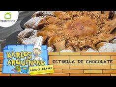 Eva Arguiñano: Receta de Estrella de chocolate - YouTube