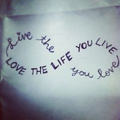 Love & Live I want this
