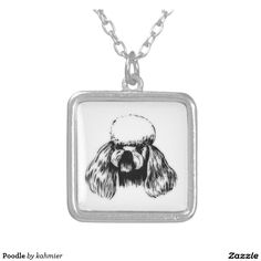 Poodle Silver Plated