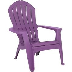 Pink Ergonomic Adirondack Chair Patio Chairs Resin
