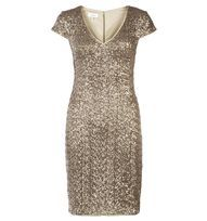 Gold Invitation Tamsin Dress | Occasion Dresses | Outlet Dresses | Hobbs