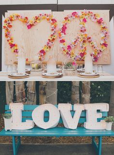 Hippie Wedding Ideas | Boda a la vista » Detalles especiales para el banquete de boda