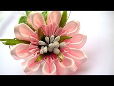Лепестки для Цветов Канзаши / How to Make Flower Petals / DIY New Kanzashi Petal - YouTube