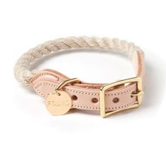 Found My Animal Rope Collar Jute | Petswag