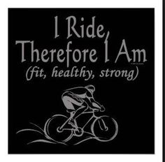 Ride hard! #cycling #motivation #fit