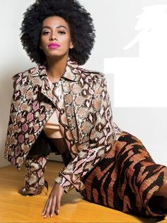 ESSENCE Magazine May 2014: Solange Knowles