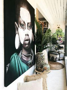 design ideas ethnic boho home decor Art Tribal, Tribal Decor, African Interior Design, African Design, African Living Rooms, Ethno Design, African Wall Art, Safari Decorations, Design Your Own Home