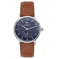 "Herrenuhr ""INSPIRATION"" 18247/15GO Bracelet Cuir, Watches, Michel, Quartz Watch, Omega Watch, Leather Men, Mens Fashion, Brown, Inspiration"