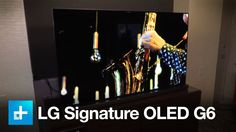 Continuing its role as trendsetter in the revolutionary world of OLED display, LG today unveiled its brand new lineup of 4K Ultra HD OLED TVs at CES 2016 in Las Vegas. The new TVs include four new series, for eight new models in all, including the top tier E6 and G6 models, along with the C6 and B6, offering both flat and curved designs.